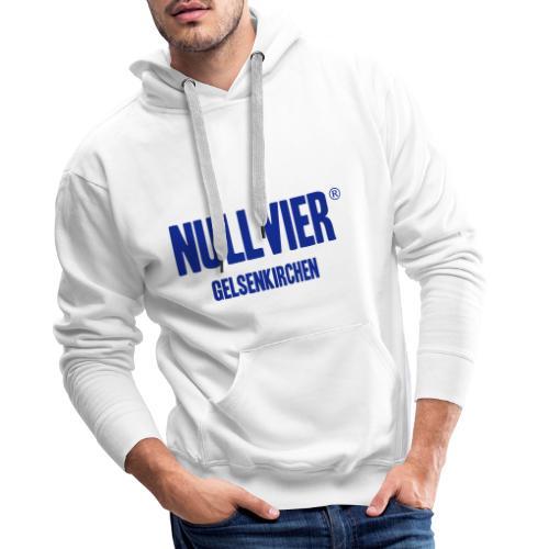 NULLVIER BLUE - Männer Premium Hoodie