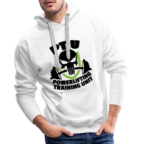 PT:U Powerlifting Training Unit - Men's Premium Hoodie