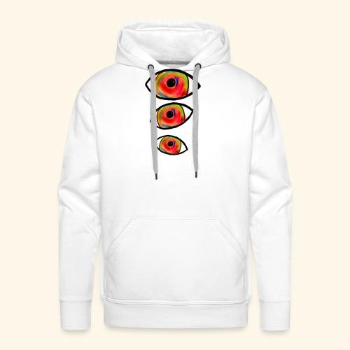 trompe L'oeil_Pastel - Sweat-shirt à capuche Premium pour hommes