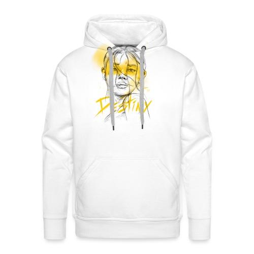 Destiny Yellow - Sweat-shirt à capuche Premium pour hommes