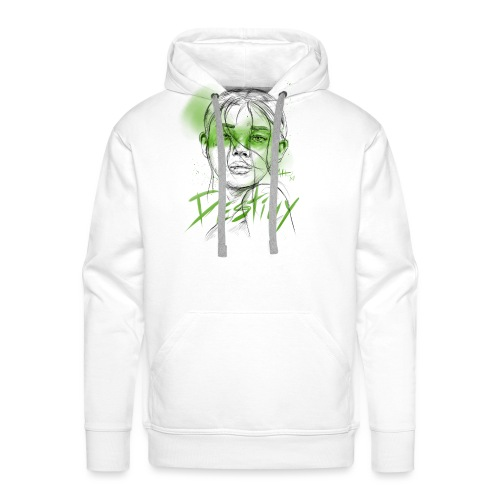 Destiny Green - Sweat-shirt à capuche Premium pour hommes