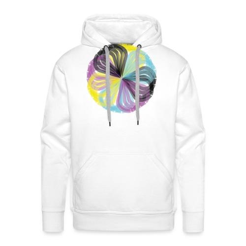 colores - Sudadera con capucha premium para hombre