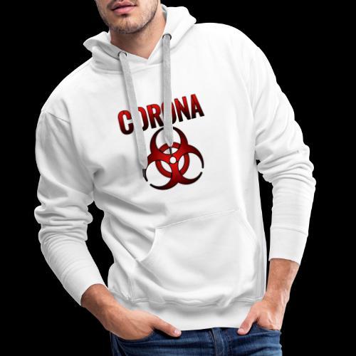 Corona Virus CORONA Pandemie - Männer Premium Hoodie