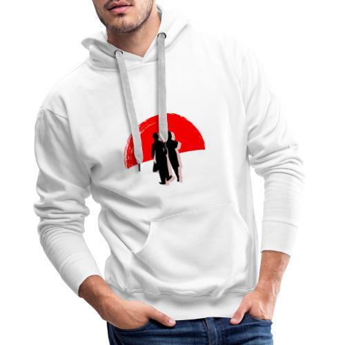 Homage à Chaplin - Sweat-shirt à capuche Premium pour hommes