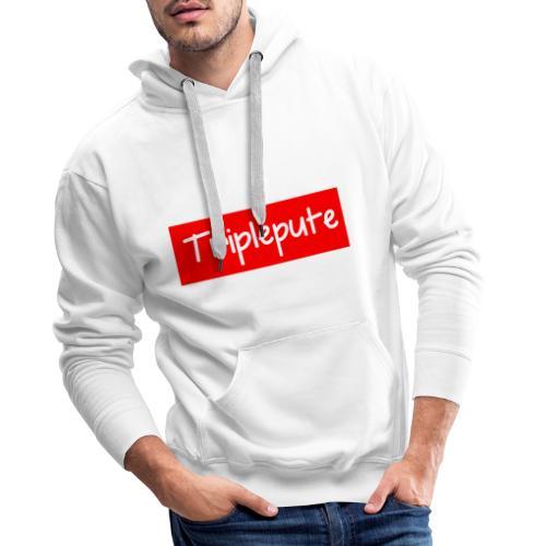 Triplepute - Sweat-shirt à capuche Premium pour hommes