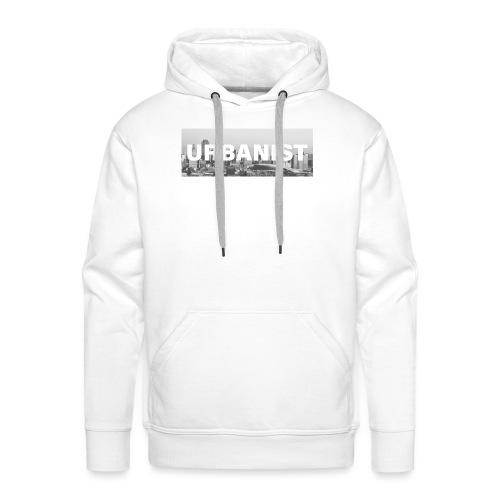 Urbanist Square - T-Shirt. - Bluza męska Premium z kapturem