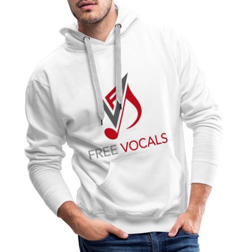 Free Vocals - Männer Premium Hoodie