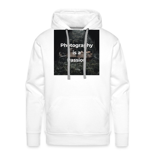 Photography is a passion - Men's Premium Hoodie