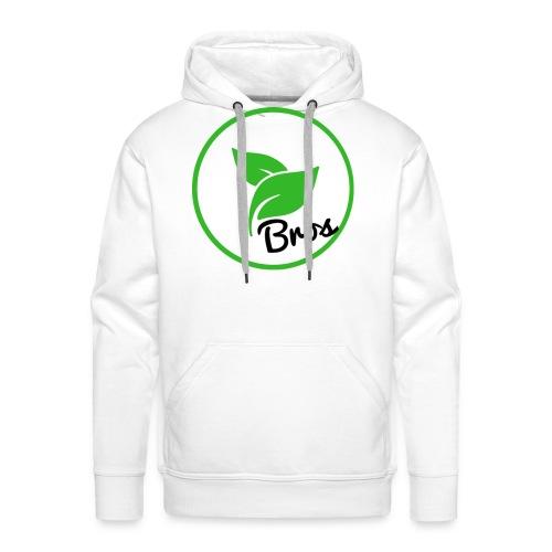 Twin Bros (Large Logo) - Men's Premium Hoodie