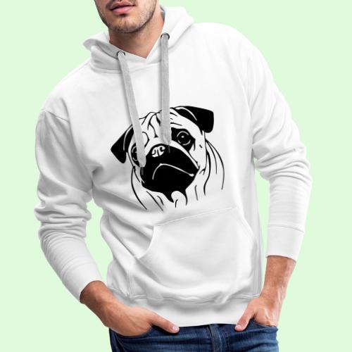 Carlinette - Sweat-shirt à capuche Premium pour hommes