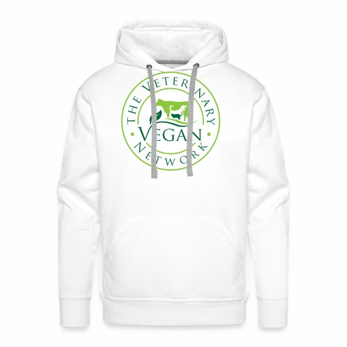 Veterinary Vegan Network Logo - Men's Premium Hoodie