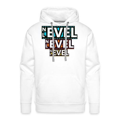 Nevel Level 3 colours - Men's Premium Hoodie
