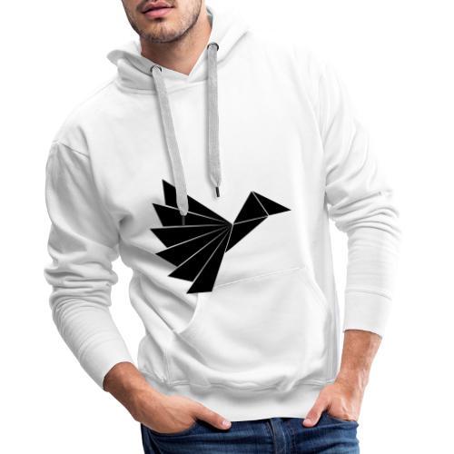 Noble Black Crow - Herre Premium hættetrøje