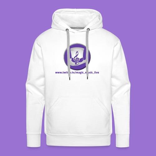 Logo Zylinder - Männer Premium Hoodie