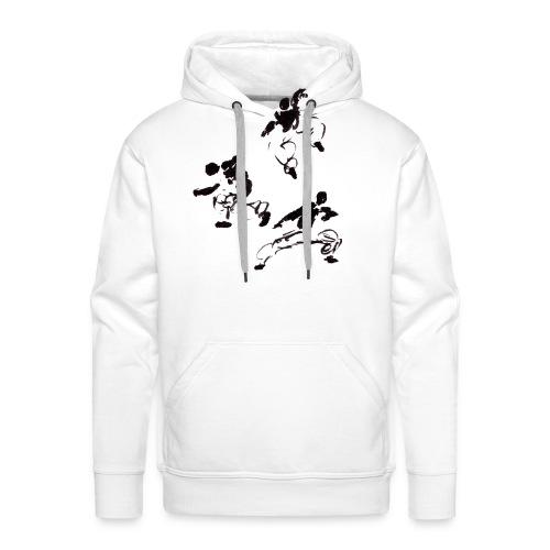 3 kungfu - Men's Premium Hoodie