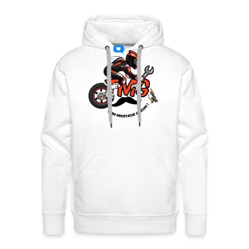 Logo TMG motard - Sweat-shirt à capuche Premium pour hommes