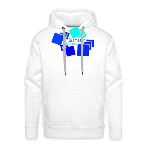Bramster Games Nieuw Logo - Mannen Premium hoodie