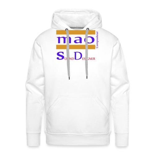 design boutique mao compo - Sweat-shirt à capuche Premium pour hommes
