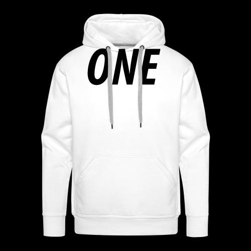 WEAREONE x LETTERS - Mannen Premium hoodie