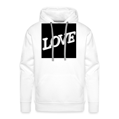 Love Me - Sweat-shirt à capuche Premium pour hommes