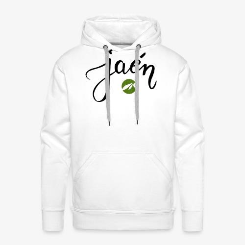 jaen - Sudadera con capucha premium para hombre