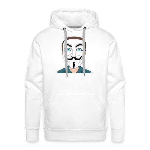 Anonymous Me Cartoon - Men's Premium Hoodie