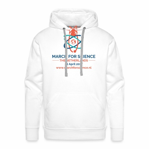 MfS-NL logo light background - Men's Premium Hoodie