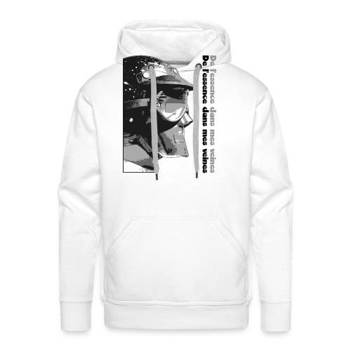 DLEDMV - Casque - Sweat-shirt à capuche Premium pour hommes