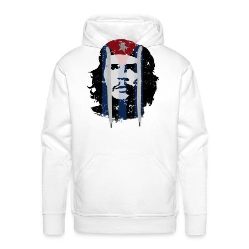 Che Guevara Kubanische Flagge Used Look - Männer Premium Hoodie