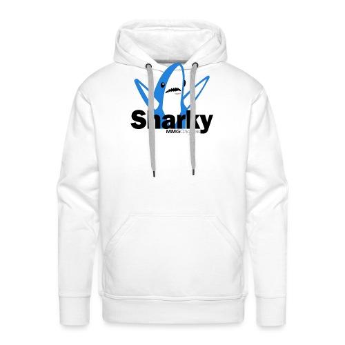 Sharkyv2 png - Mannen Premium hoodie