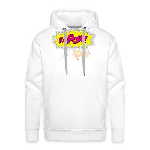 kaboum bam - Sweat-shirt à capuche Premium pour hommes