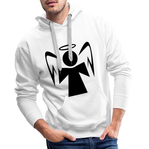 Engel mit Heiligenschein - Männer Premium Hoodie
