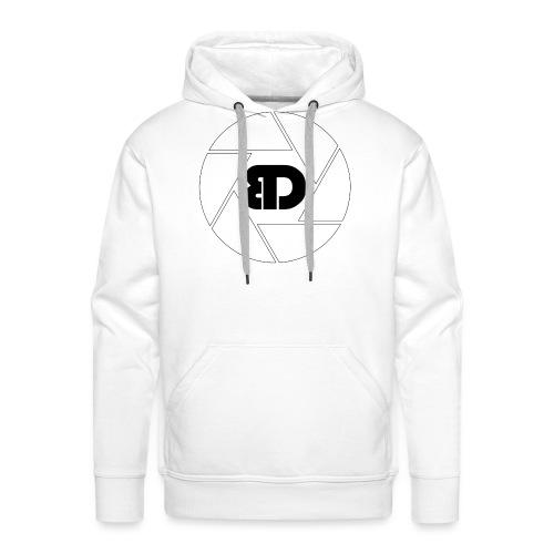 BD Logo schwarz - Männer Premium Hoodie