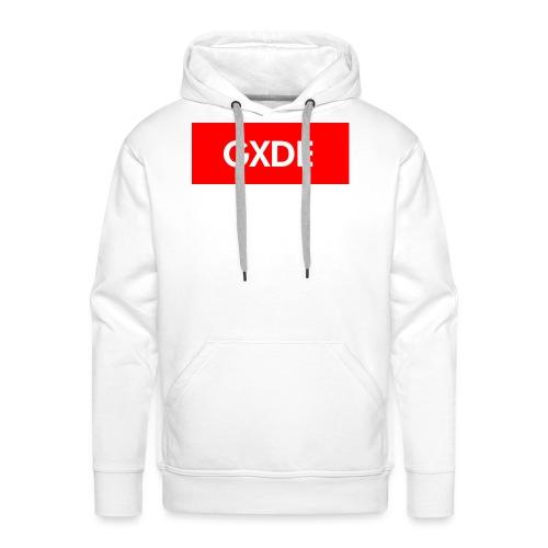 GXDE style Supre_me - Sudadera con capucha premium para hombre