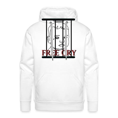 FREE CRY - Mannen Premium hoodie