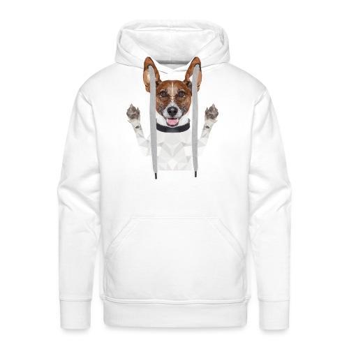 Funny dog - Männer Premium Hoodie