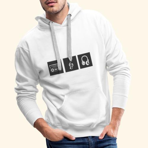 Music is Passion - Männer Premium Hoodie