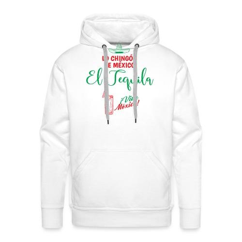 Lo Chingón de México - Sudadera con capucha premium para hombre