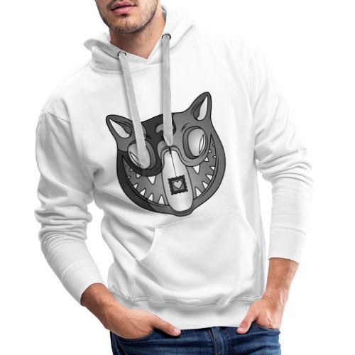 Acid Cat B / W - Men's Premium Hoodie