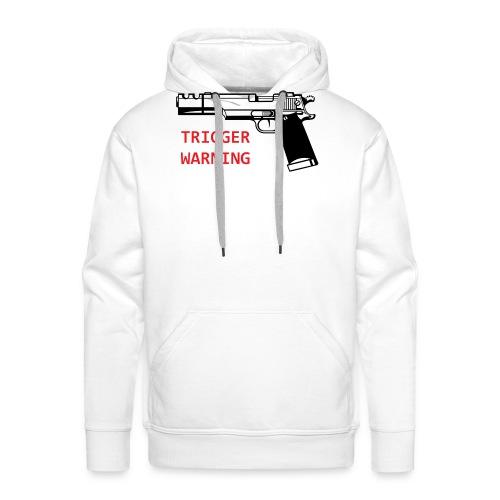 Anti-Snowflake Trigger Warning Collection - Men's Premium Hoodie