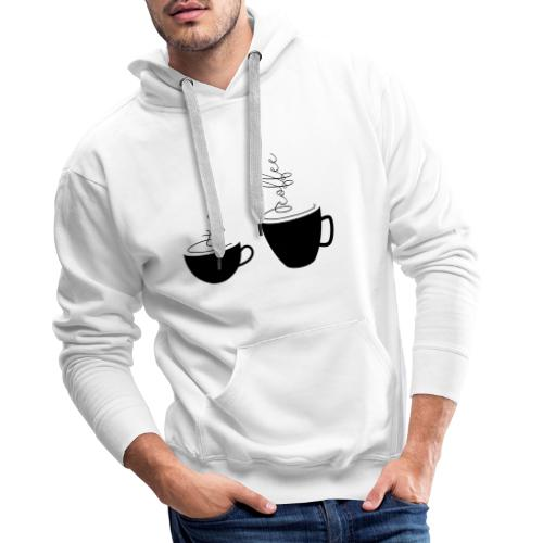 0253 Coffee Mug | Teacup | Coffee | tea - Men's Premium Hoodie