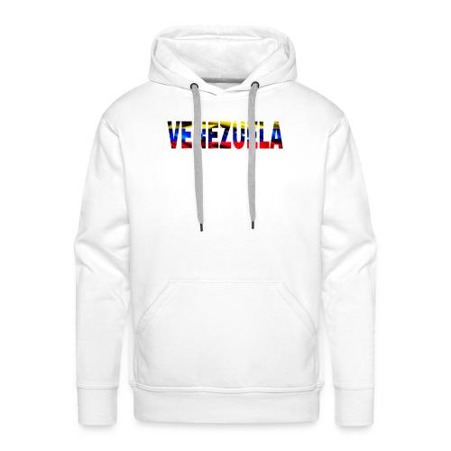 Venezuela tricolor - Sudadera con capucha premium para hombre