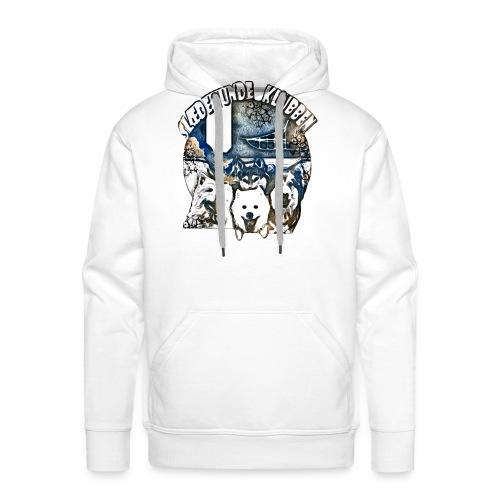 logoart3broken gif - Herre Premium hættetrøje