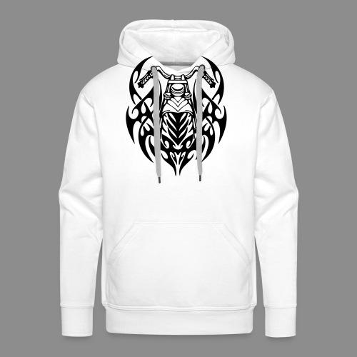 Moto Tribal - Sudadera con capucha premium para hombre