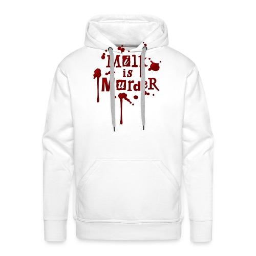 01_t_milkismurder - Männer Premium Hoodie