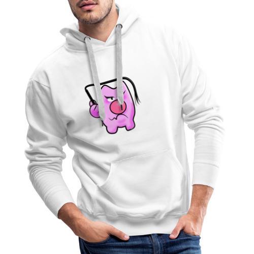 Peitschen Schwein - Männer Premium Hoodie