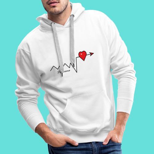 Pulsions - Sweat-shirt à capuche Premium pour hommes