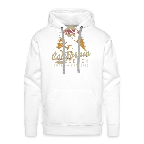 California Beach - Sweat-shirt à capuche Premium pour hommes