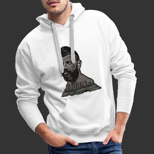 Bear made of stone - Männer Premium Hoodie