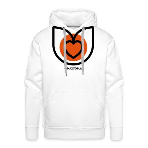 Tulipe cœur - Sweat-shirt à capuche Premium pour hommes